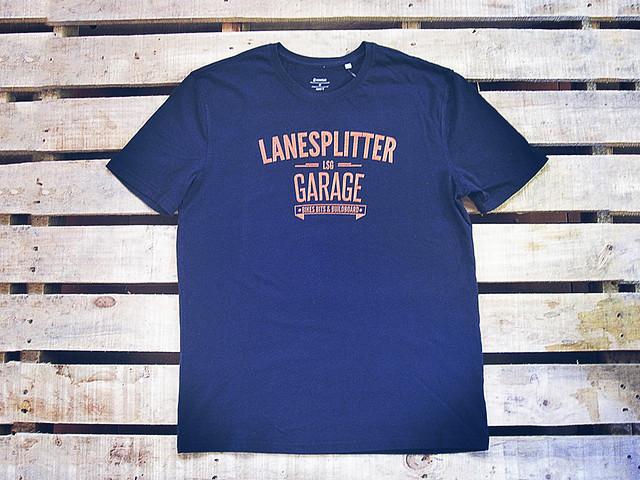 Lanesplitter Garage Logo Tee