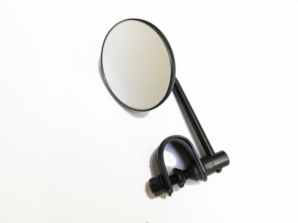 Black Short Stem Mirror