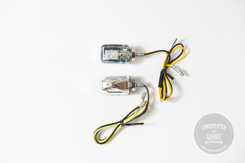 Chrome Micro LED Indicators