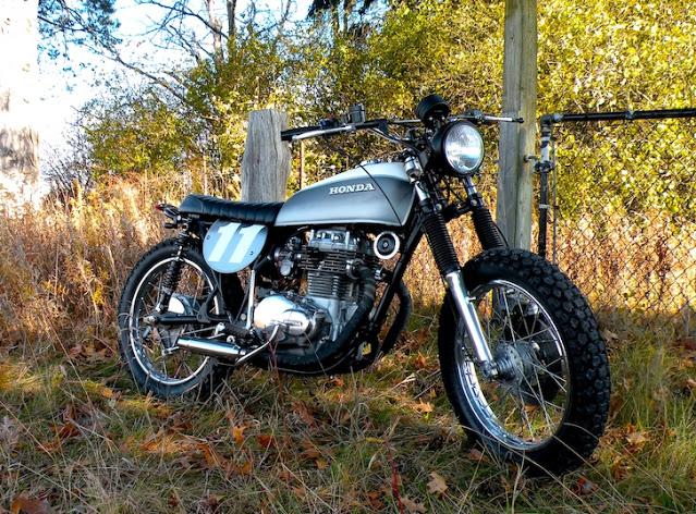 Custom Honda CB350