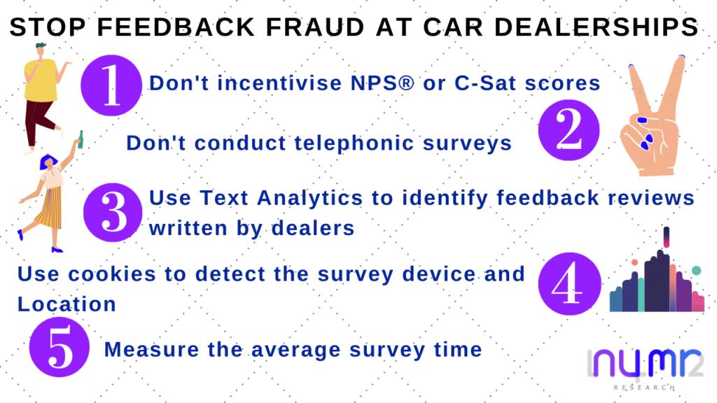 car dealership customer feedback numr