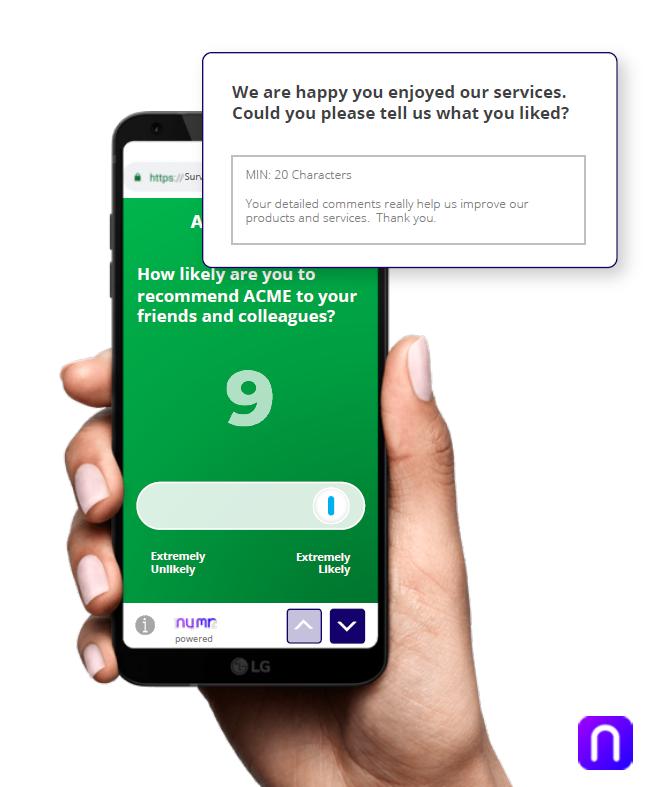 customer feedback nps® net promoter