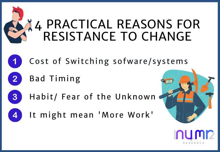 resistance to change numr