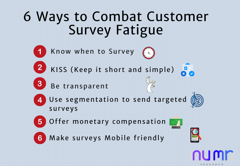 6 ways to avoid customer feedback survey fatigue
