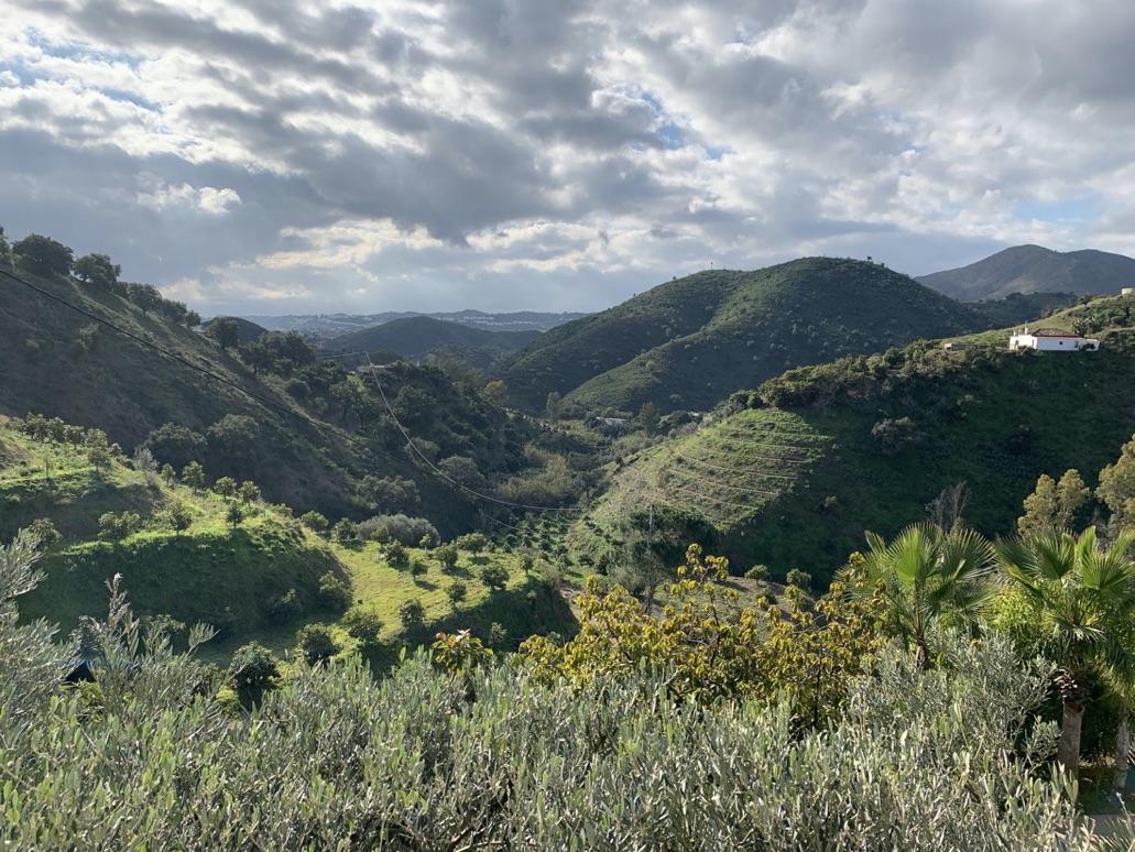 The hills between Fuengirola, Mijas, and Alhaurin el Grande