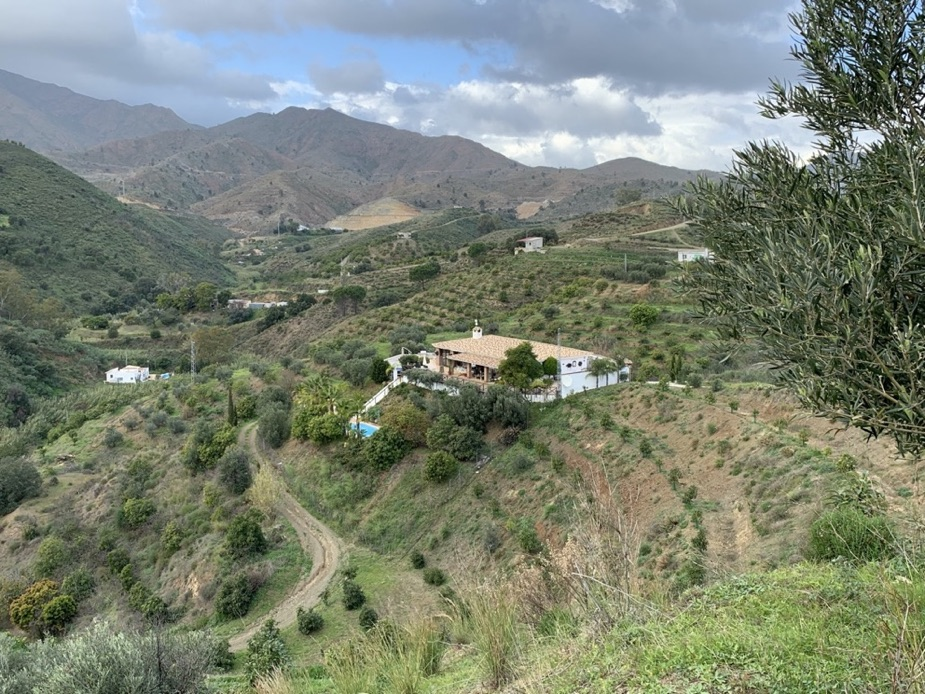 Our finca in Mijas which is called 'Las Cañas'