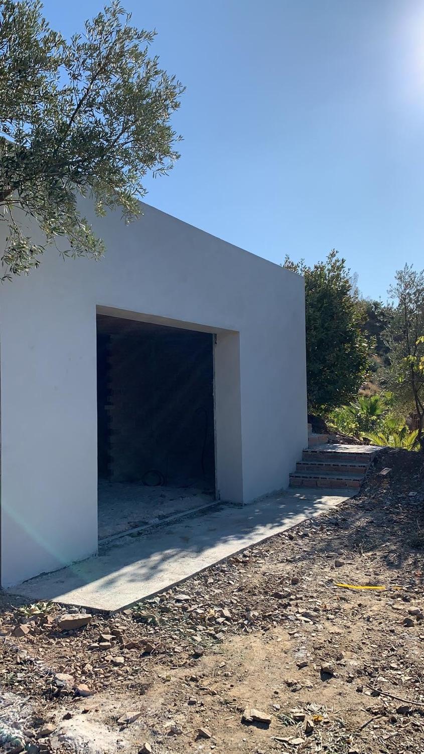 Studio exterior nearly ready