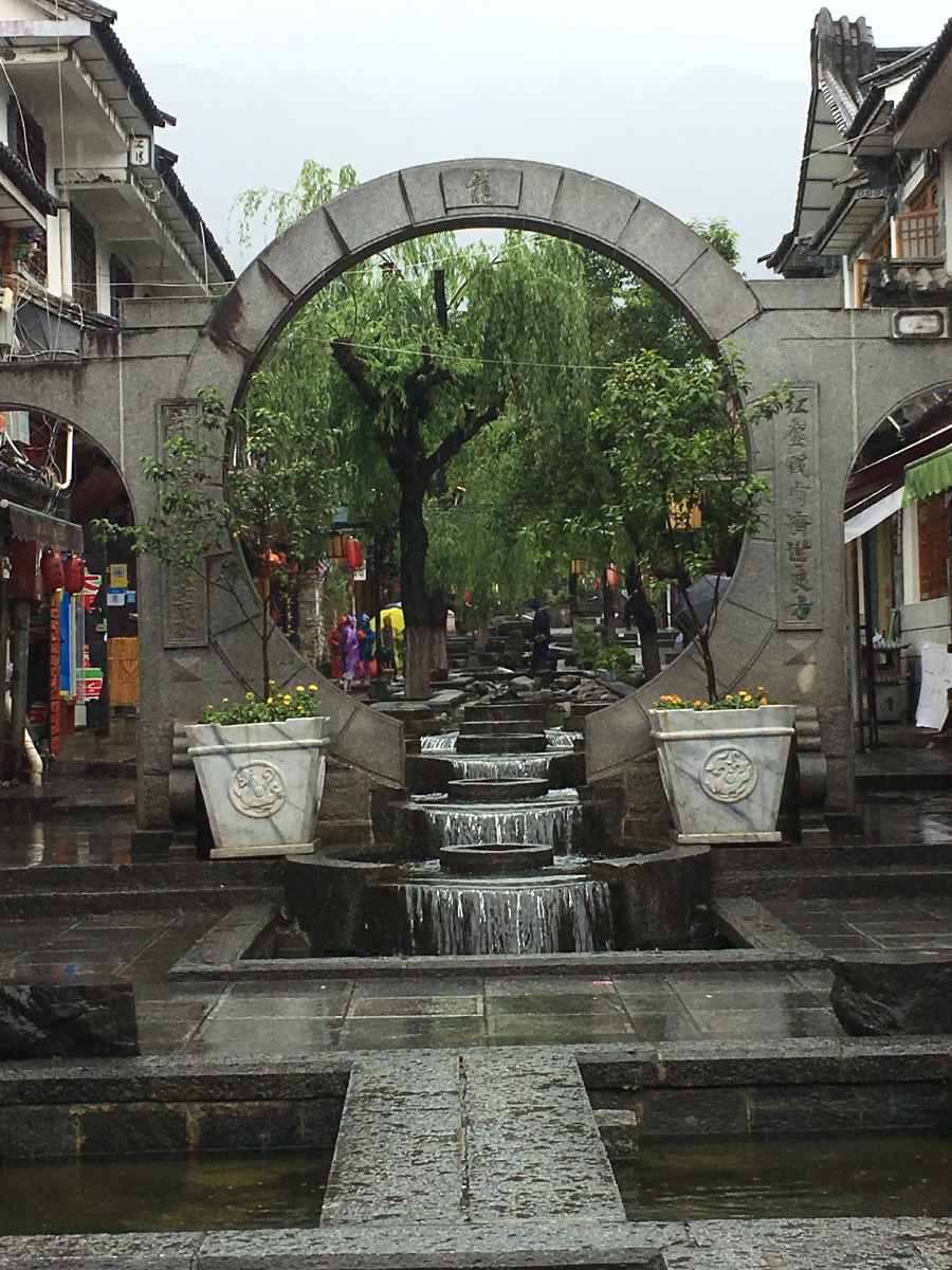 The old town of Dali