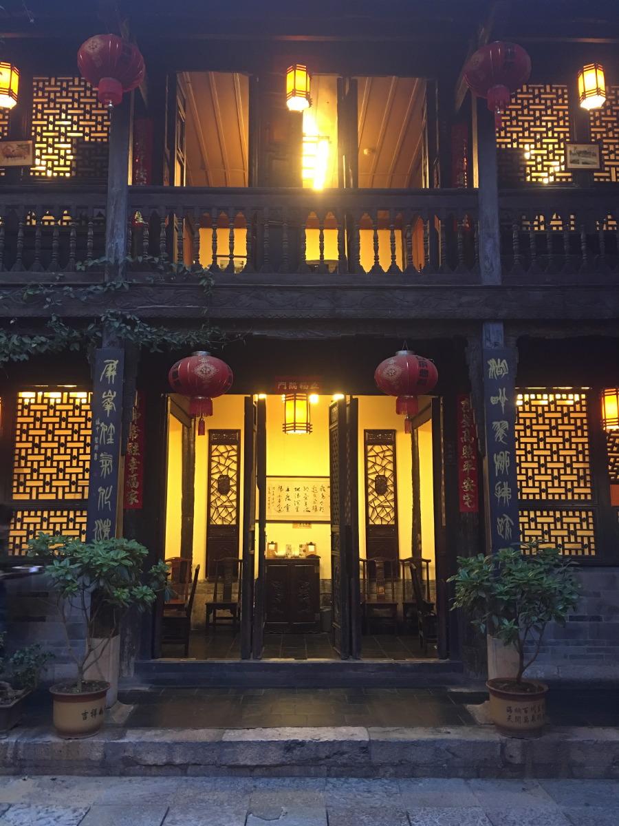 Kunming. Shiping Huiguan, wonderful Yannan kitchen
