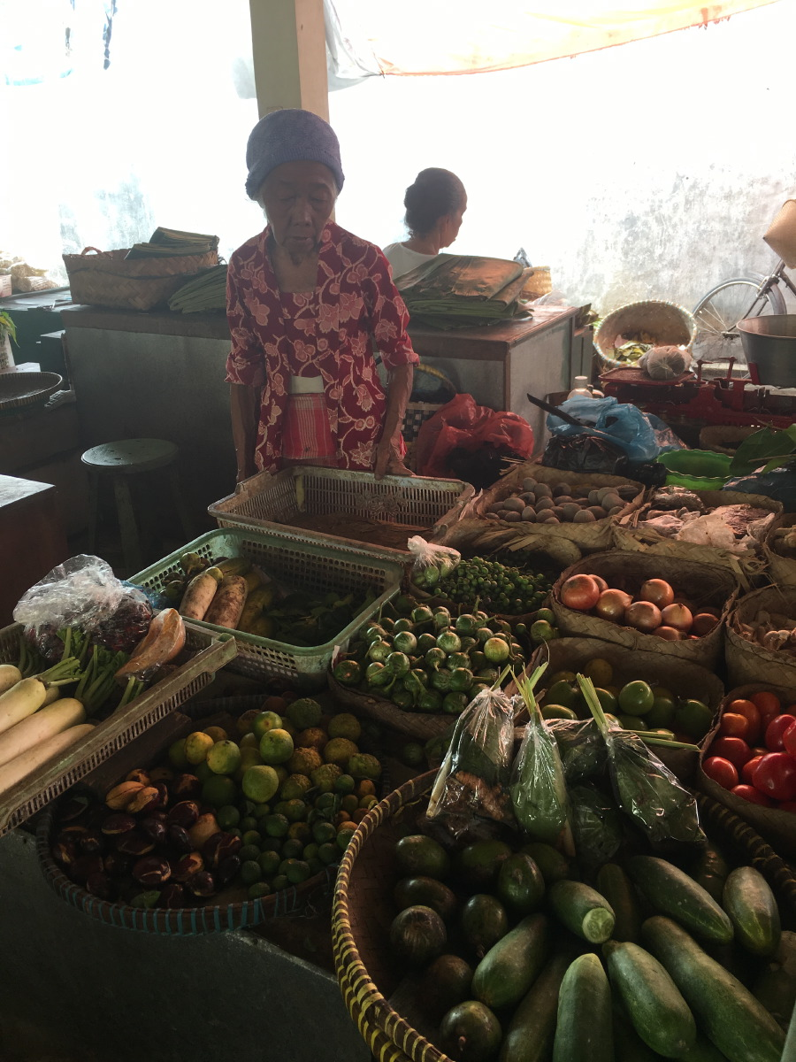 Impressions of a local produce market.