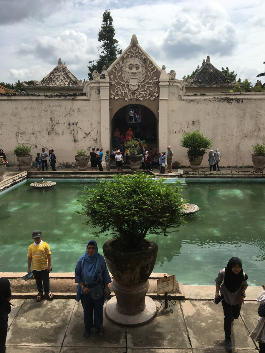 In early 1970s, effort at restoration was made. Only the bathing complex has been completely restored.
