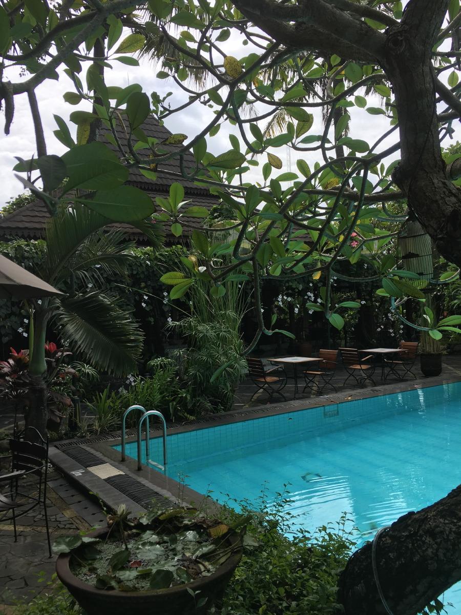 Our hotel for this short Christmas vacation: Dusun Jogja Village Inn.