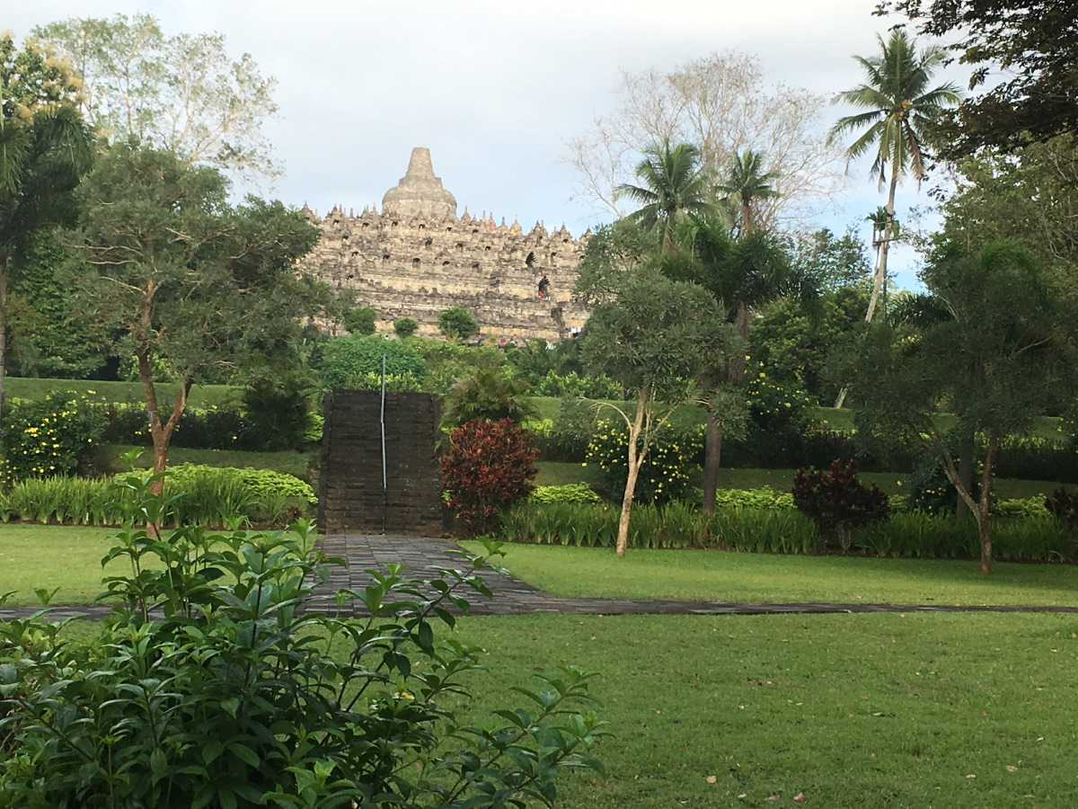 Borobudur has since been preserved through several restorations.