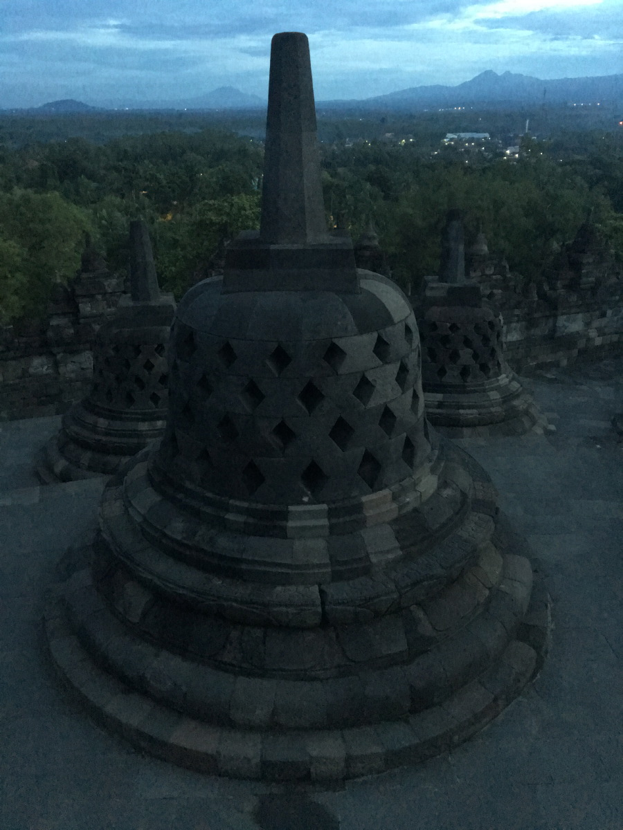 Candi Borobudur is the world's largest Buddhist temple, and also one of the greatest Buddhist monuments in the world.