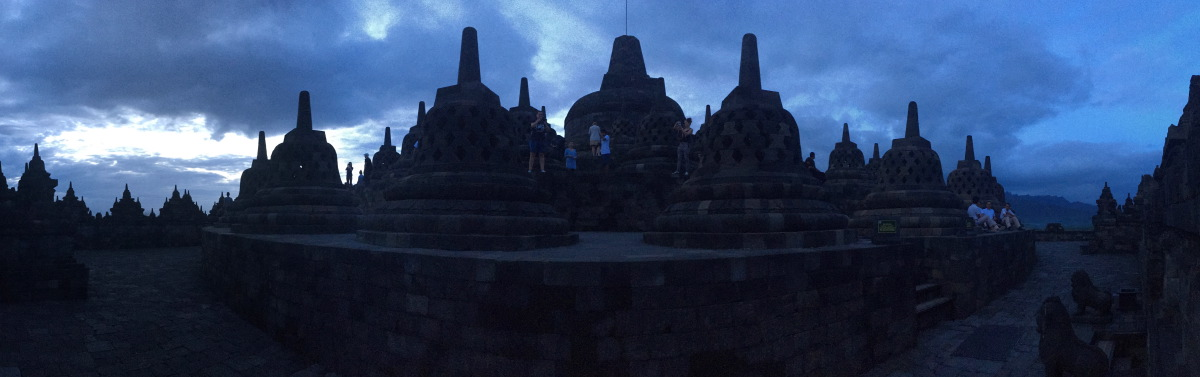 Built in the 9th century the temple was designed in Javanese Buddhist architecture, which blends the Indonesian indigenous cult of ancestor worship and the Buddhist concept of attaining Nirvana.