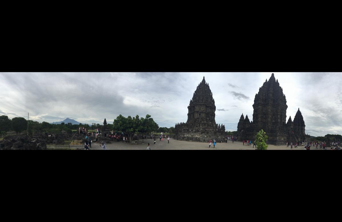 Candi Prambanan. Temple overview