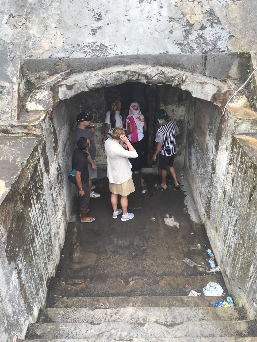 In this vulcano bunker, many people suffocated during the 2006 eruption.