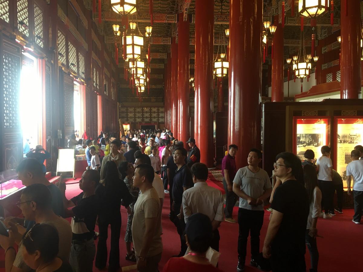 Inside Tiananmen Gate