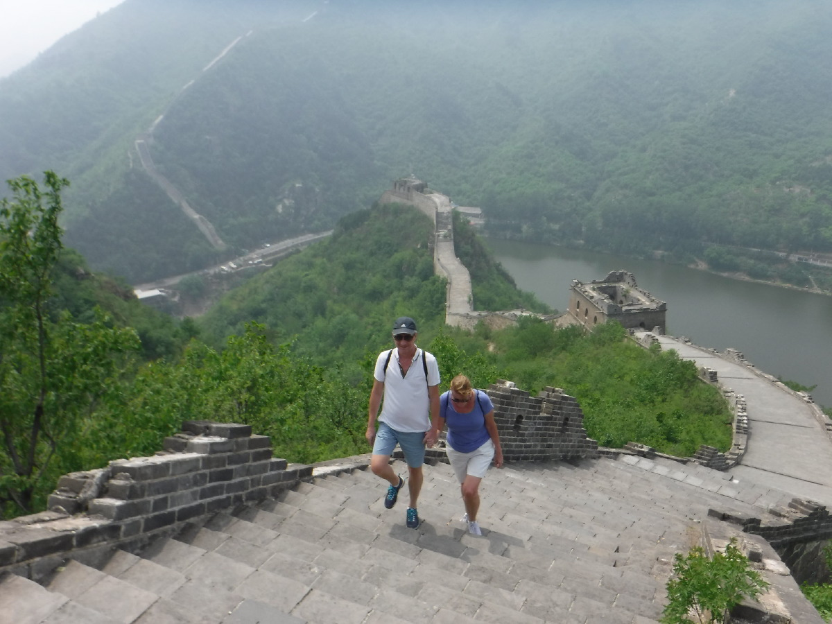 The Great Wall. With a little help from your friend.....