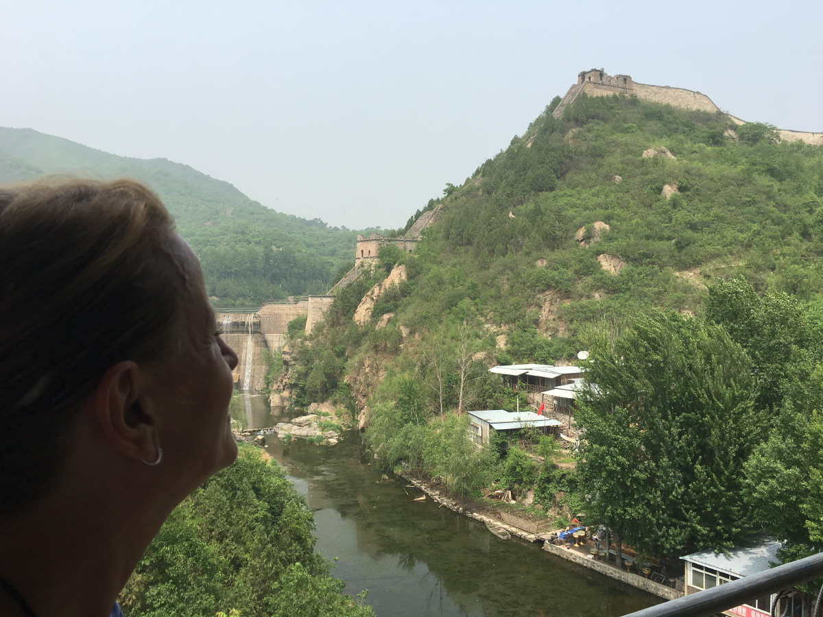 The Great Wall. Huanghuacheng was amazing! Not another tourist in sight and a magical landscape.