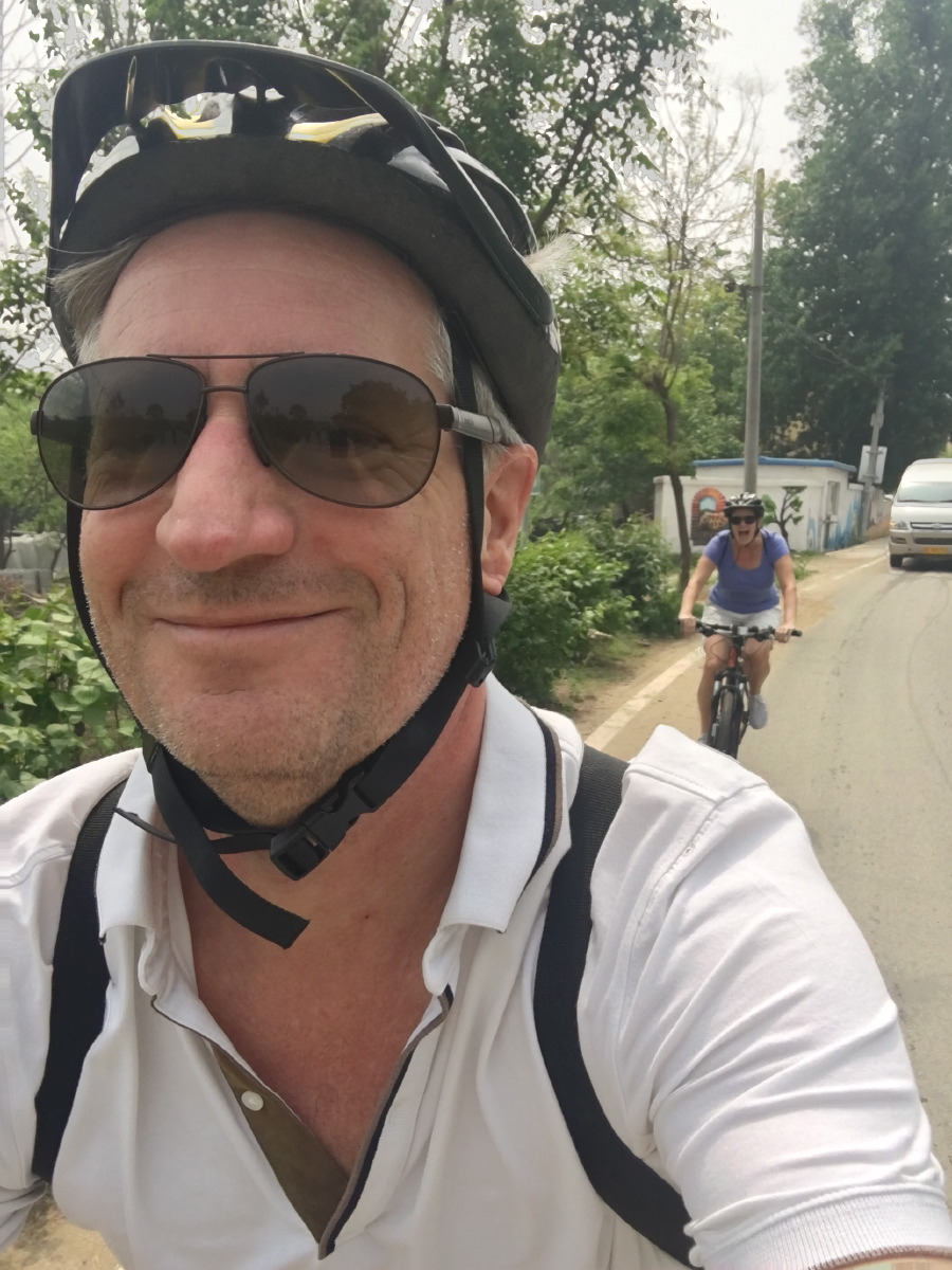 From Beijing to Huanghuacheng. Cycling in China is a weird experience.
