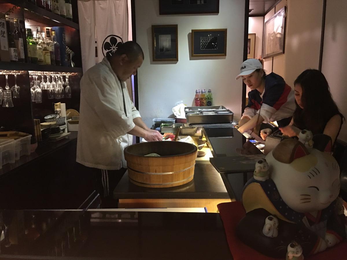 Murasakitama. When in Beijing, eat Japanese.....
