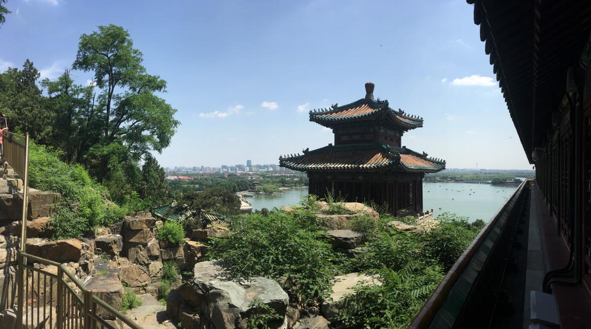 Baoyun Pavilion.