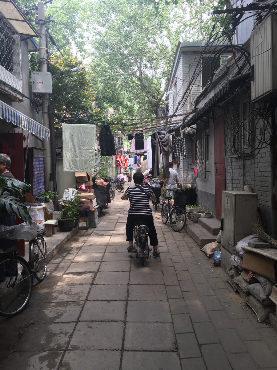 Last visit to the hutongs of Beijing