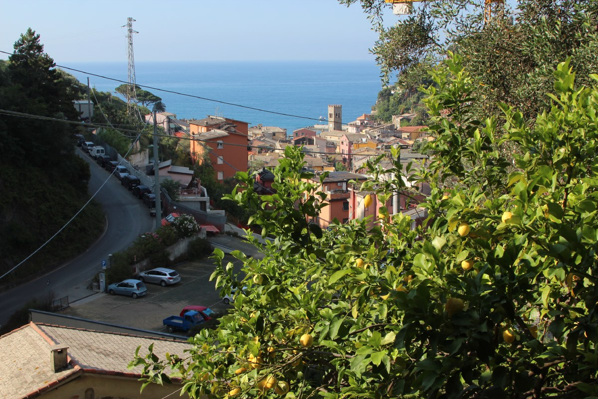 View from our hotel Casa del Limone