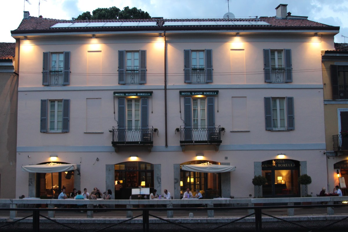 Our hotel Maison Borella. What a wonderful place!