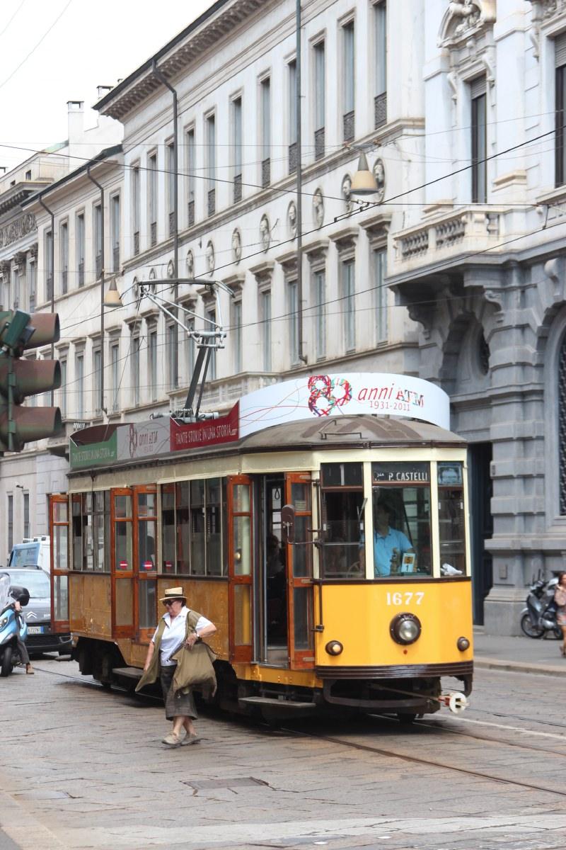 Milano streetcar
