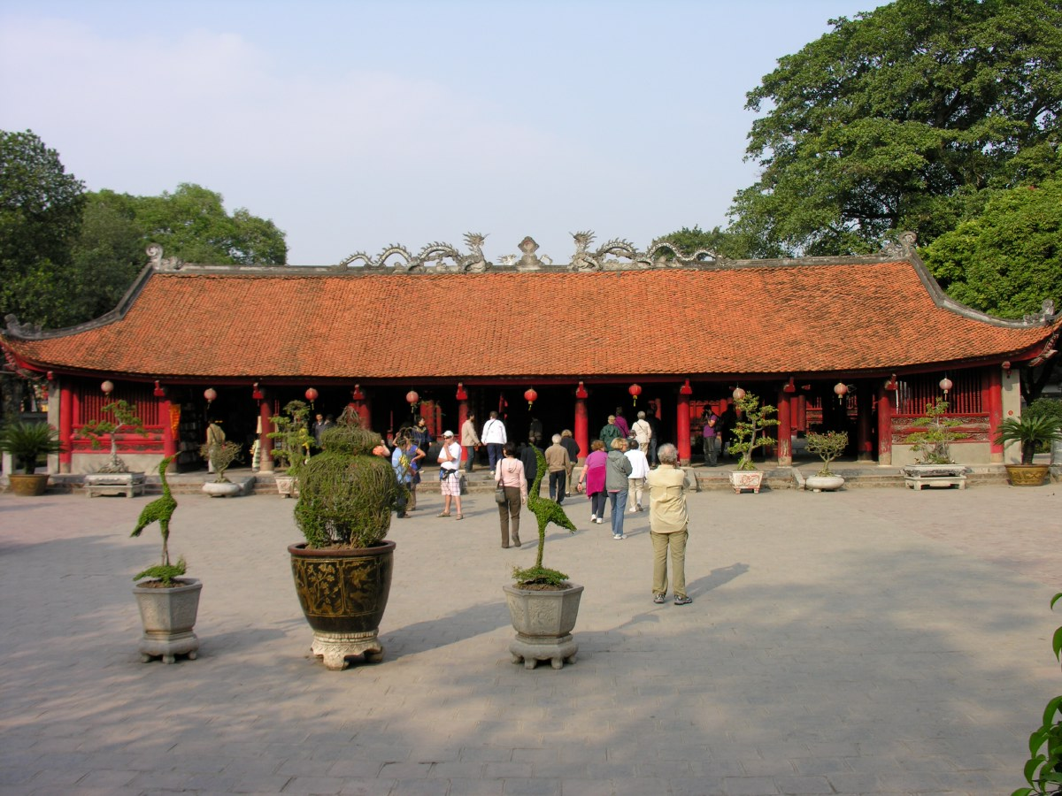 The temple of Literature