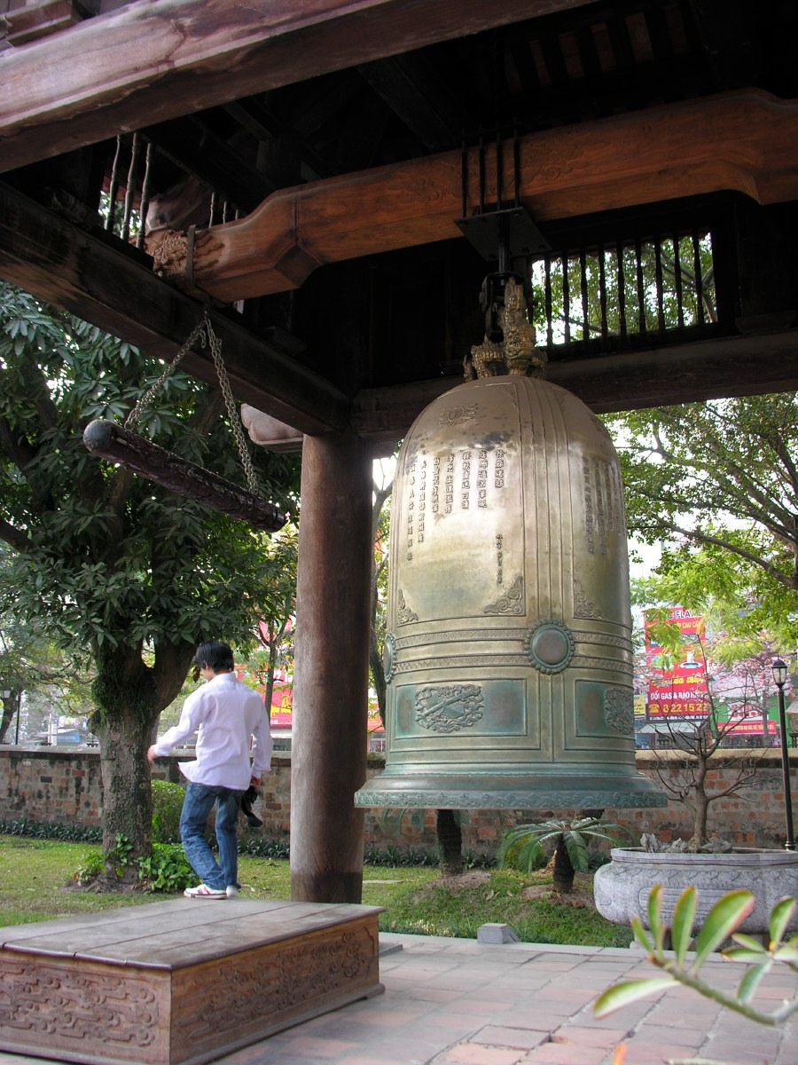 Giant bronze bell