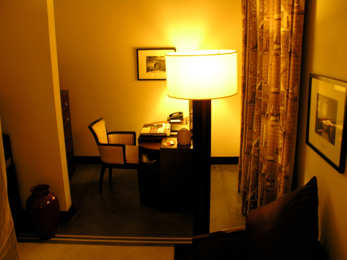 Our beautiful and spacious room in Hué