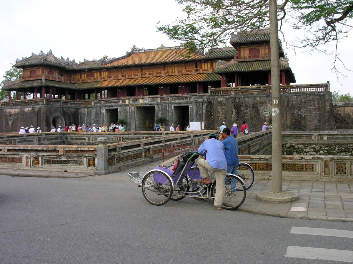 The Citadel in Hué