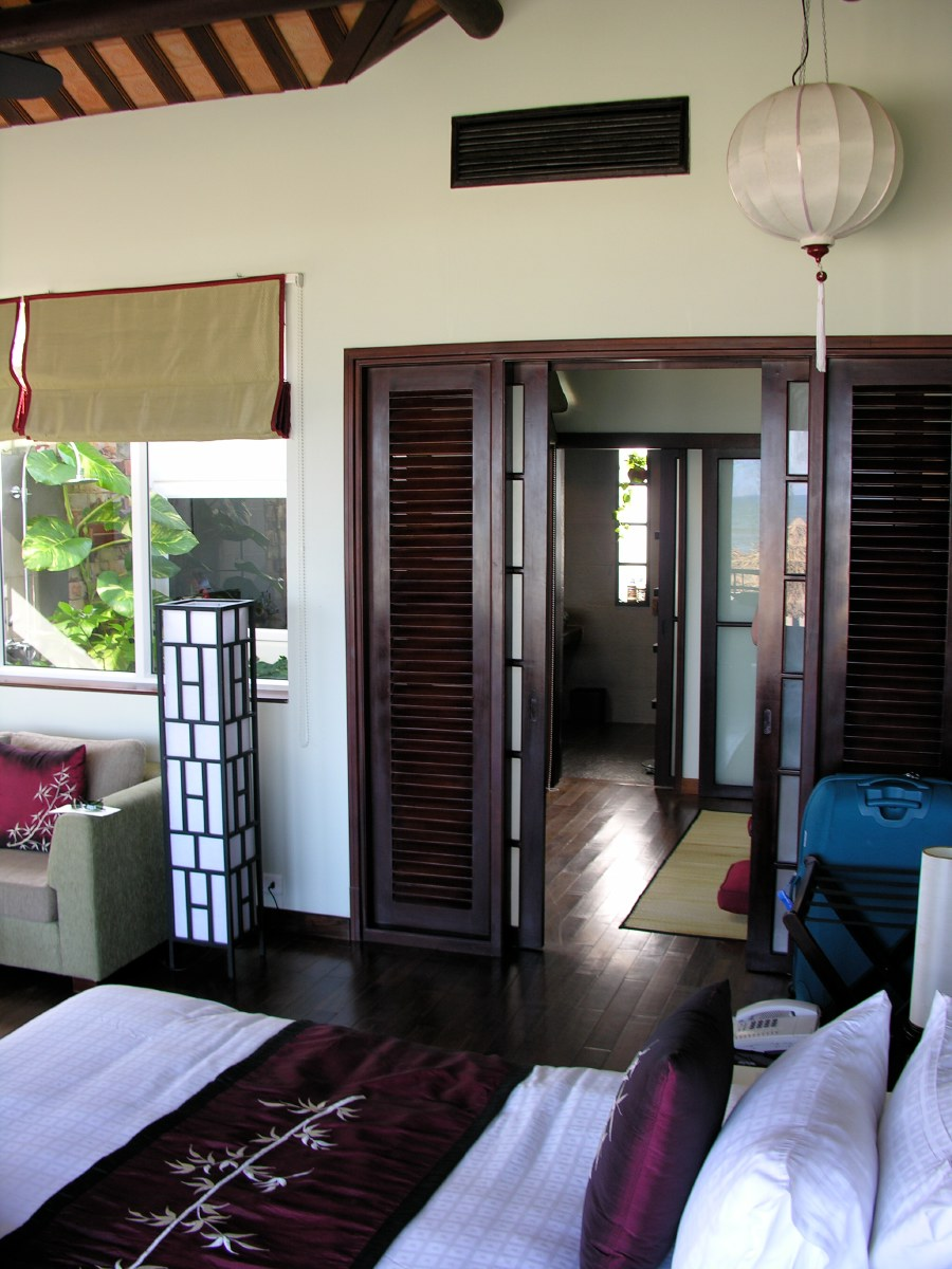 Our beachside cottage in Hoi An