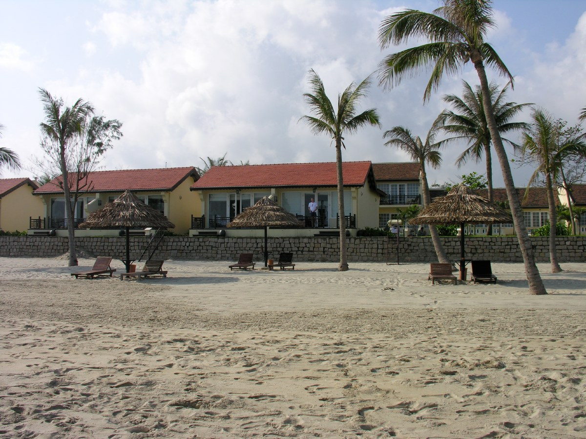 Hotel at the beach