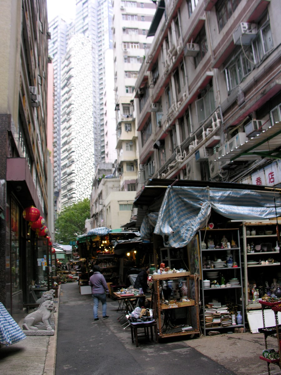 Old Chinese quarter with lots of antiques shops