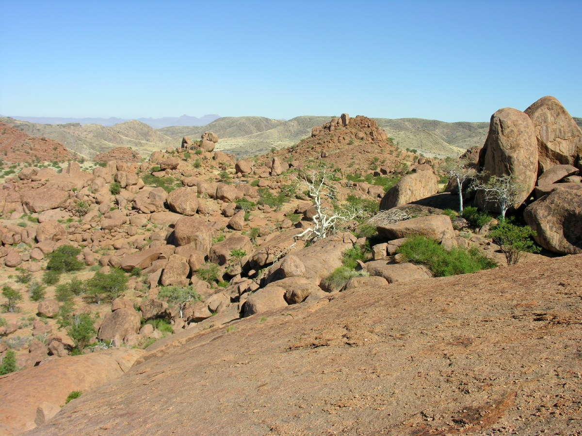 Stacks of boulders everywhere