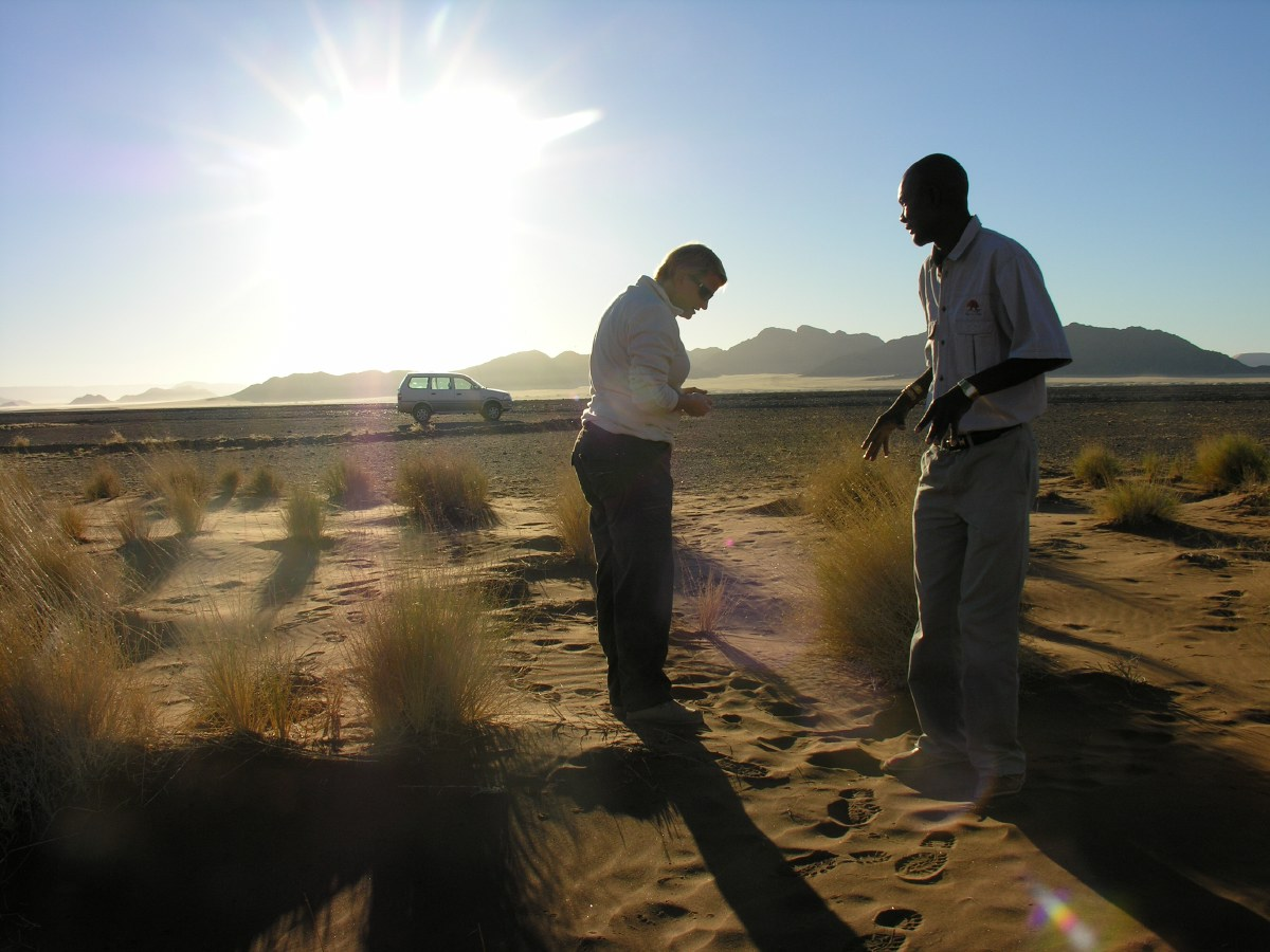 Alex was our guide at the Desert Homestead. He told great stories about the flora and fauna of this area.