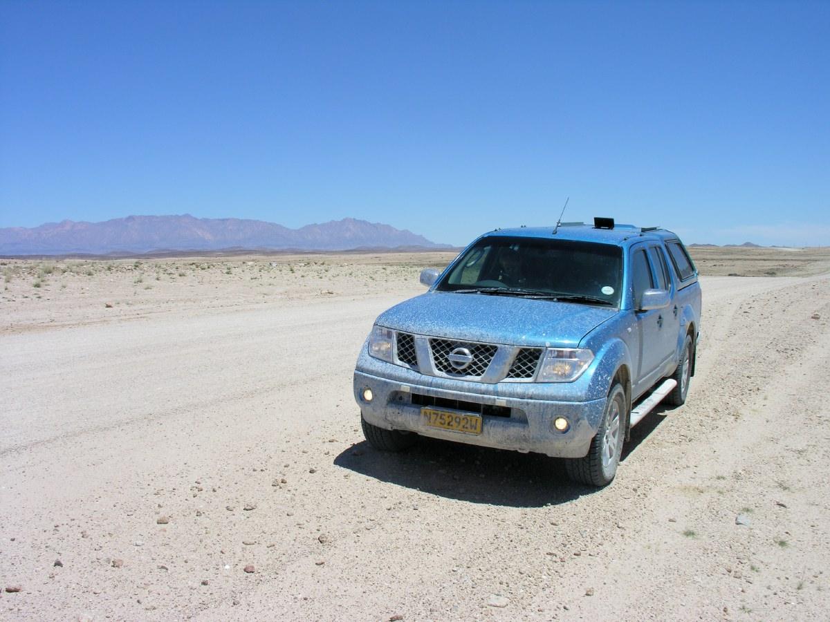 Across the Namib Desert