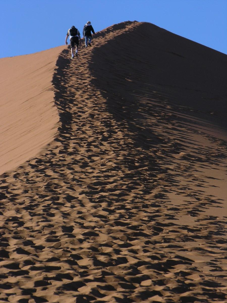 On dune 45