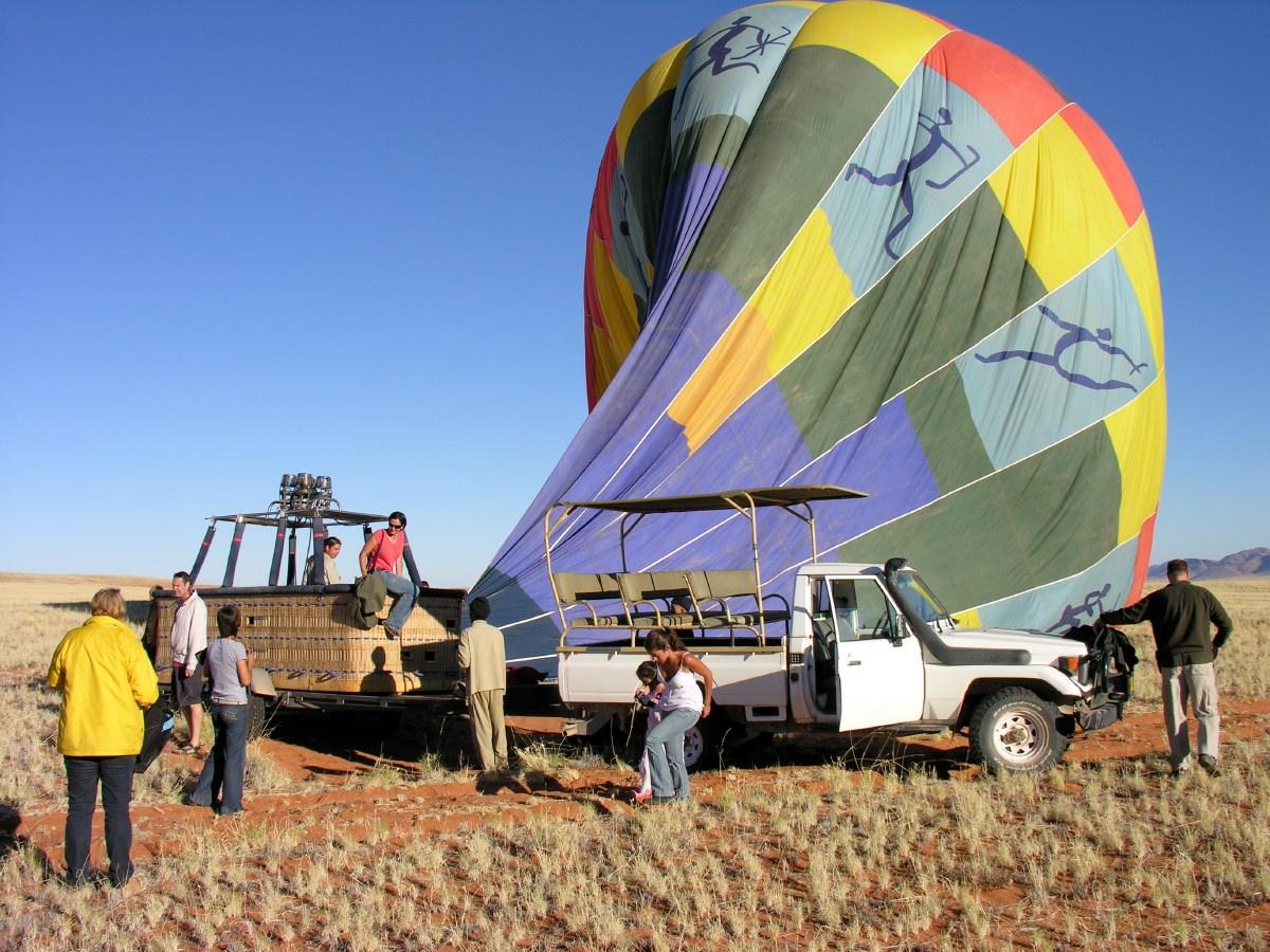 Deflating slowly