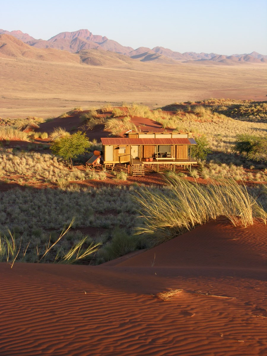 Our hut in the Wolwedans dunes