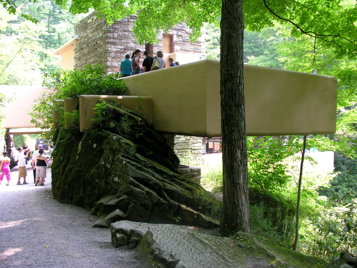 Fallingwater is one of Frank Lloyd Wright's masterpieces