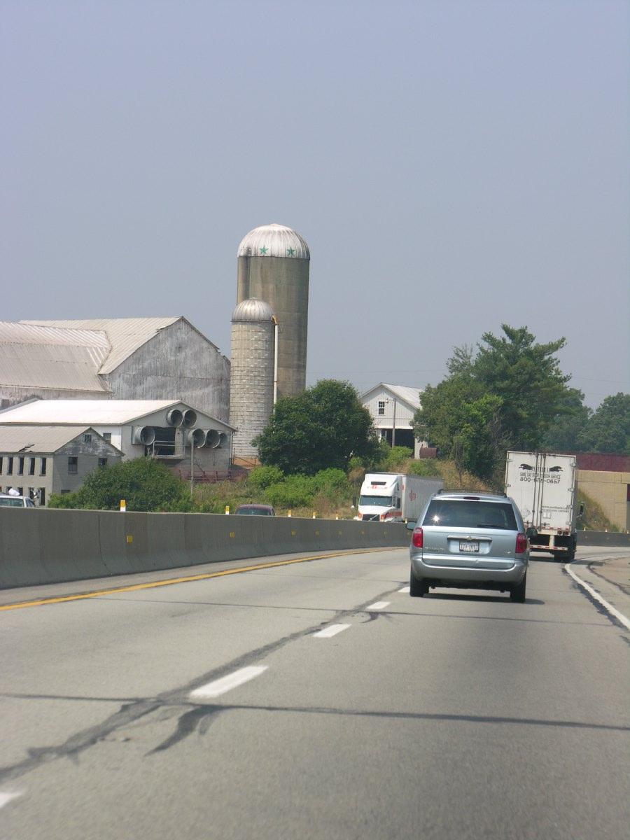 Into the rural heartlands of the USA