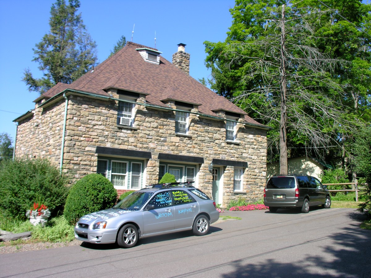 The French Manor Inn carriage house