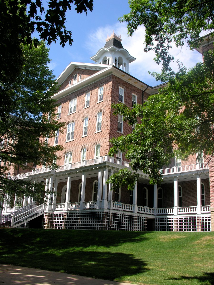 The oldest building of IUP, dating back to 1875