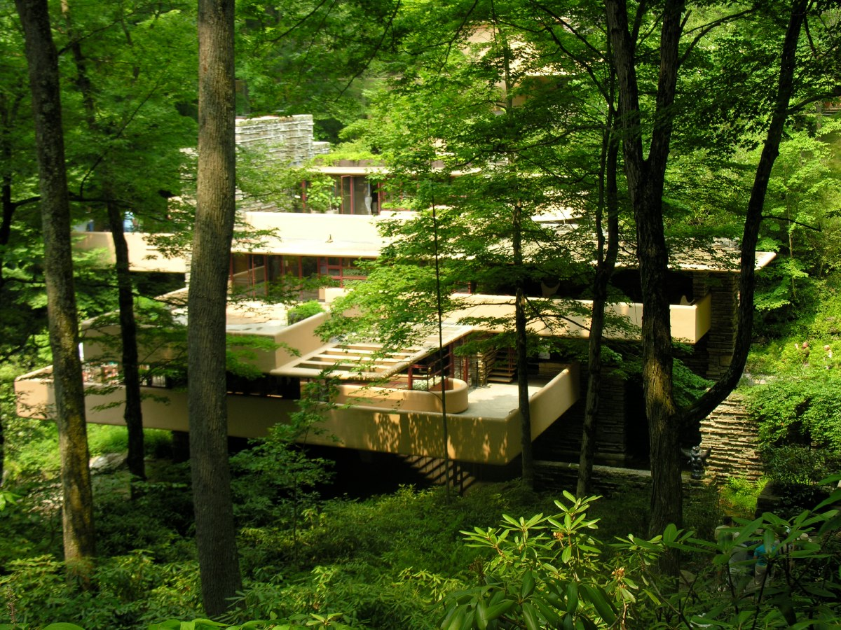 Bye Fallingwater, hope to see you once more in our lifetime!