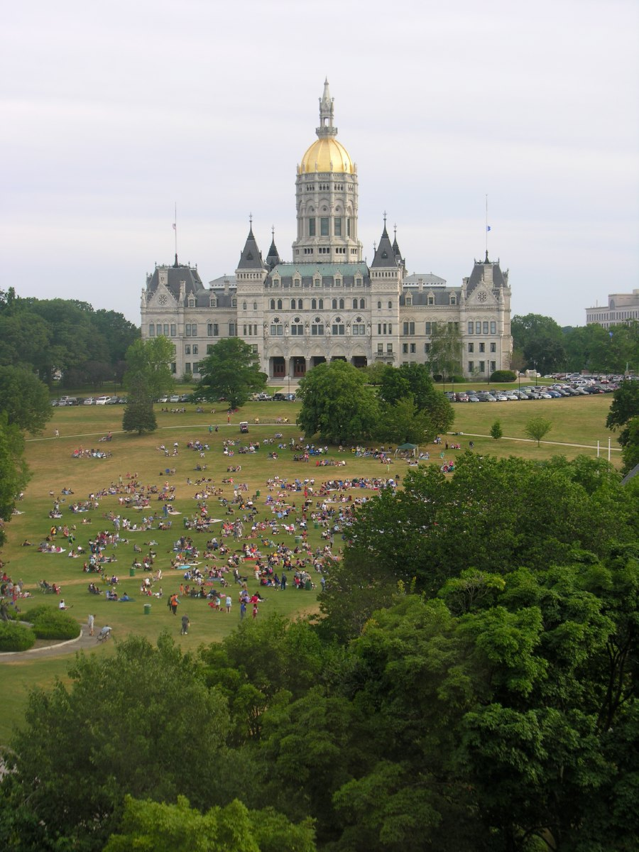 The Connecticut State Capitol in Hartford